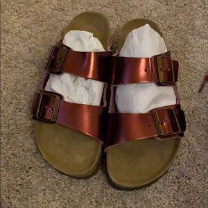 Birkenstock's sandals pink